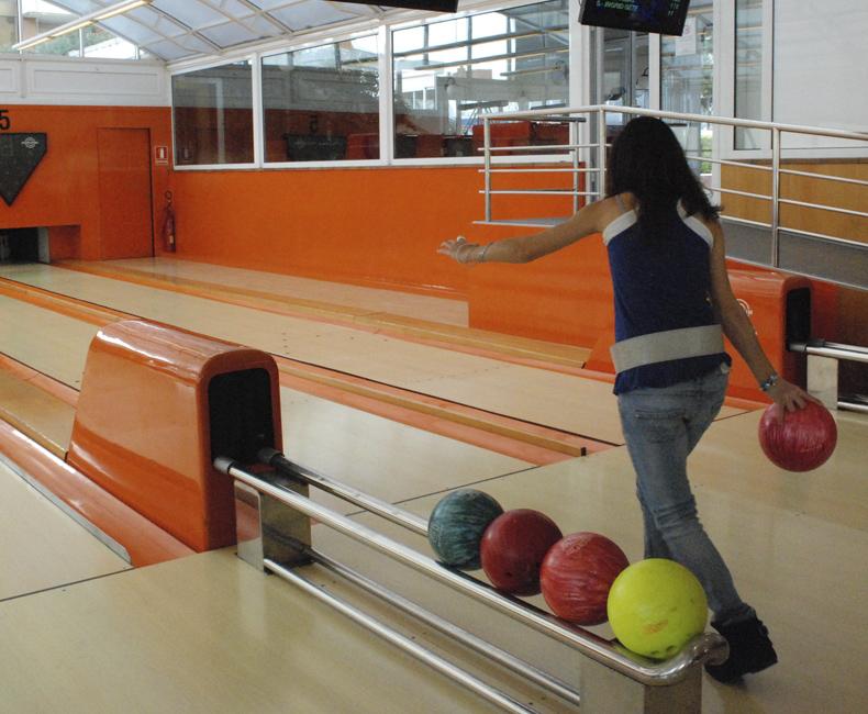 Bolera al Restaurant Bowling-golf de Calella