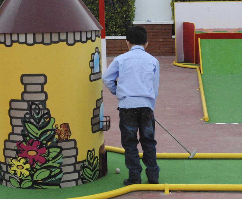 Obstacles de Minigolf a Calella