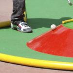 Minigolf en el Restaurant Bowling-golf