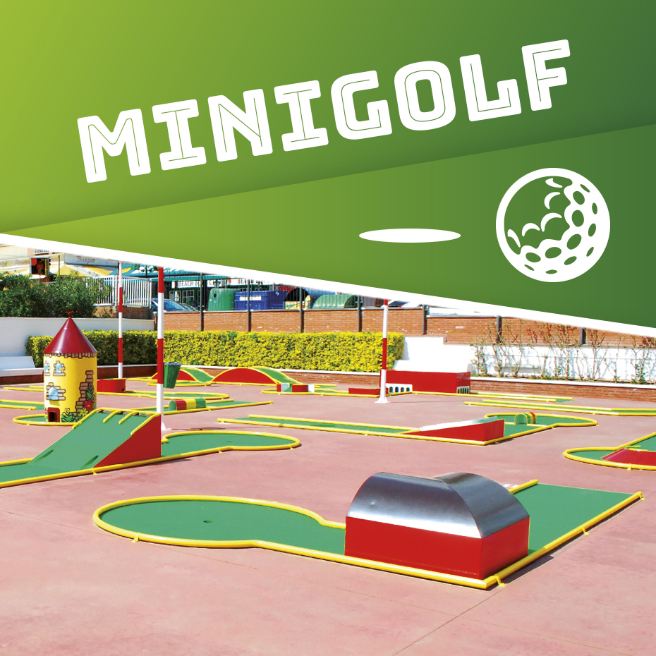 mini-golf en Calella